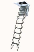 Чердачная металлическая огнестойкая лестница FAKRO LSF