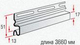 Начальная планка (длиной 3,66 м.)
