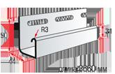 J-trim (длиной 3,66 м.)