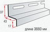 Навесная планка (длиной 3,66 м)