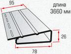 Наличник (длиной 3,66 м.)