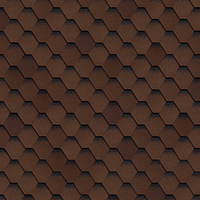 Шинглас Самба коричневый